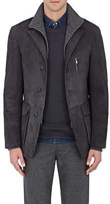 Fioroni Men's Suede Walking Coat
