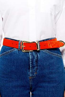 Topshop Classic Pony Hair Belt