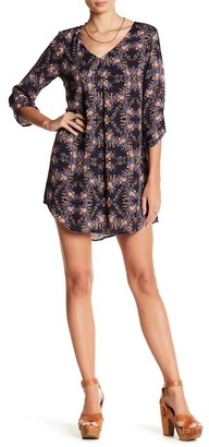 Lush 3/4 Length Sleeve Shift Dress $48 thestylecure.com