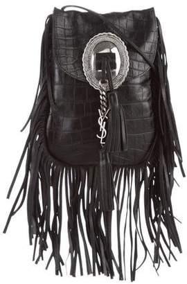 Saint Laurent Anita Studded Fringe Bag