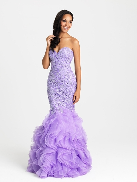 Madison James - 16-430 Dress in Purple