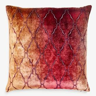Kevin OBrien Kevin O'brien Arches Velvet Pillow Wildberry