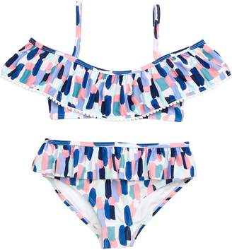 Kate Spade Brush Strokes 2-Piece Swimsuit