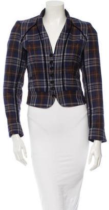 Mulberry Wool Blazer $110 thestylecure.com