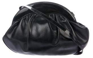 Salvatore Ferragamo Pleated Leather Crossbody Bag
