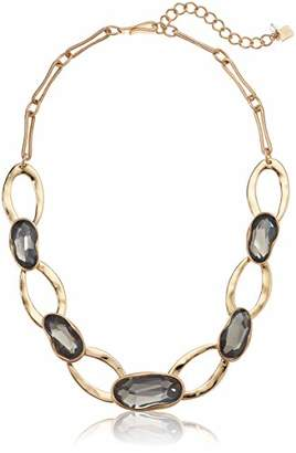 Robert Lee Morris Soho Stone and Oval Link Collar Necklace