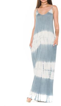 Bella Tie Dye Dress $94 thestylecure.com