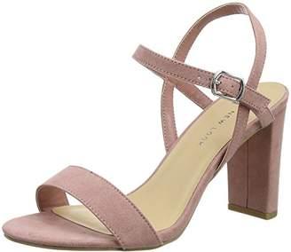 New Look Women's 5177510 Open-Toe Heels, (Pink NIU), 36 EU