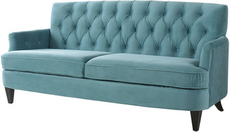 Jennifer Taylor Kelly Button Tufted Recessed Arm Sofa