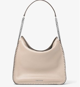 3c625a8e7303 Michael Kors Astor Studded Large Hobo Bag - Cement - 30T6SATH3L-092