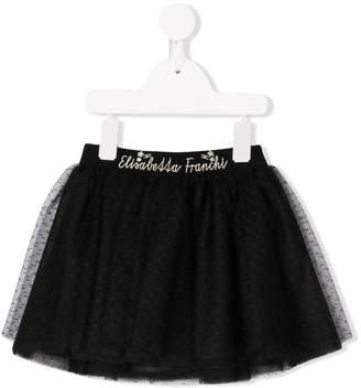 Elisabetta Franchi La Mia Bambina flared tulle skirt