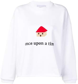 Mira Mikati Once Upon a Time sweatshirt