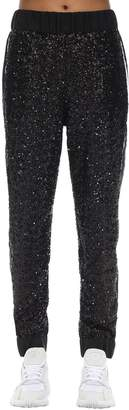 NO KA 'OI No Ka'oi Midnight Embellished Techno Jogger Pants