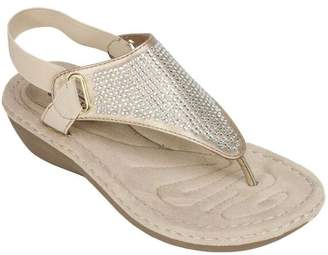 White Mountain Cliffs By Cliffs by Thong Sandals - Chrystal