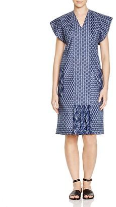 Pepin Joey Mixed-Print Cotton Dress $339 thestylecure.com