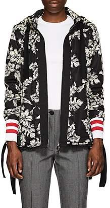 Moncler Women's Moirion Floral Tech-Faille Jacket