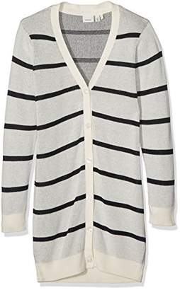 Name It Girl's Nitilly LS Long Knit Card Box NMT Cardigan