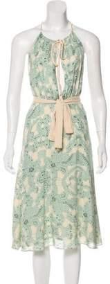 Temperley London Silk Printed Dress
