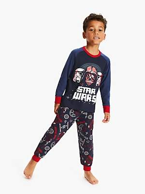 Star Wars Boys' Print Pyjamas, Navy