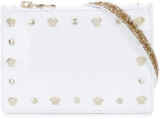 Versace embellished Medusa crossbody bag