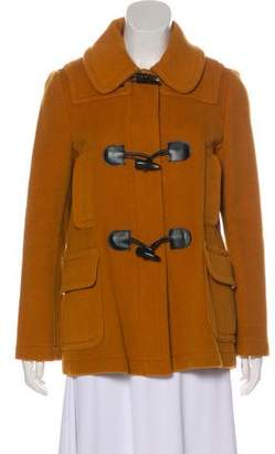 Burberry Wool Collared Jacket