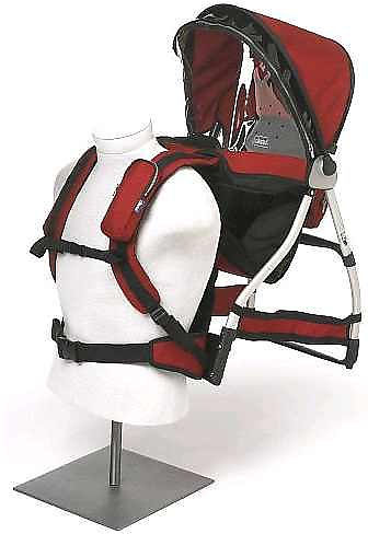 Chicco Smart Support Backpack Frame Carrier - Red