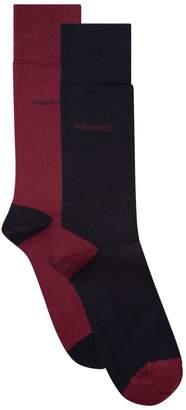 HUGO BOSS Logo Socks (Pack of 2)