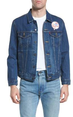 Levi's MLB Yankees Denim Trucker Jacket