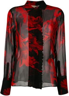 Roberto Cavalli Tullip print shirt
