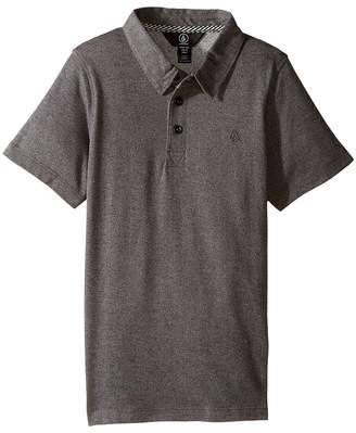 Volcom Wowzer Polo Top Boy's Short Sleeve Pullover