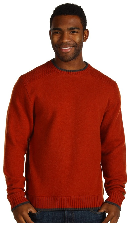 The North Face Cedarwood Sweater (Red Clay/Graphite Grey) - Apparel