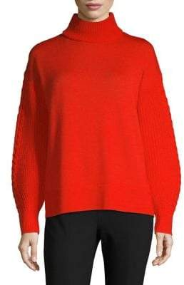 HUGO Sonali Turtleneck Wool Sweater