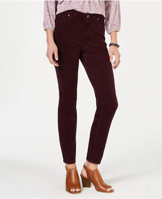 Style&Co. Style & Co Curvy Corduroy Skinny Jeans