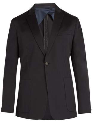 Kilgour Single-breasted cotton-blend blazer