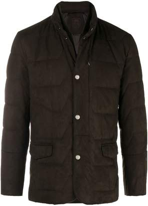 Corneliani layered padded jacket