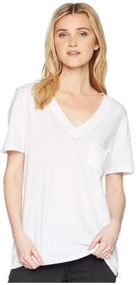 Hurley Hallow Perfect Short Sleeve V Tee Women's T Shirt