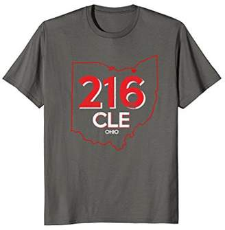 Vintage 216 Cleveland Ohio T-Shirt