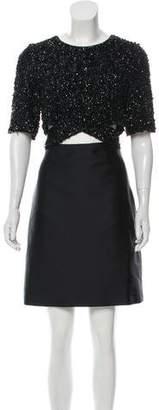 3.1 Phillip Lim Embellished Cutout Dress