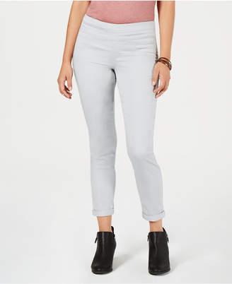 Style&Co. Style & Co Rolled-Hem Skinny Pants