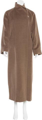 Max MaraMaxMara Virgin Wool Long Line Coat