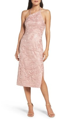 Women's Vera Wang Asymmetrical Midi Dress $298 thestylecure.com