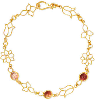 Pippa Small 18-karat Gold Tourmaline Bracelet