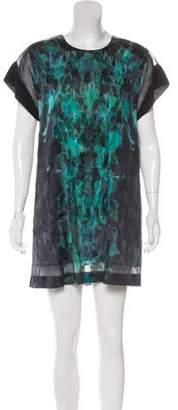Dion Lee Silk Mini Dress