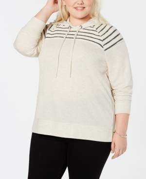 Style&Co. Style & Co Plus Size Hooded Sweatshirt, Created for Macy's