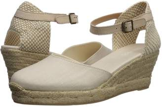 Soludos Closed-Toe Midwedge 70mm Women's Wedge Shoes