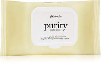 philosophy Purity Made Simple One-Step Facial Cleansing Cloths, 15-Pc.