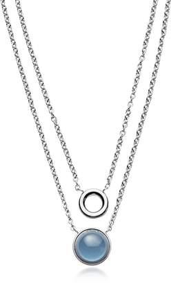 Skagen Sea Glass Layered Pendant Necklace