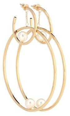 Chloé Darcey hoop earrings