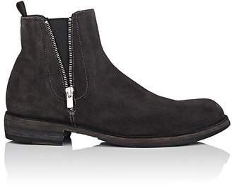Officine Creative Men's Double-Zip Suede Chelsea Boots