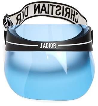 Dior Eyewear - Diorclub1 Tinted Visor - Womens - Light Blue